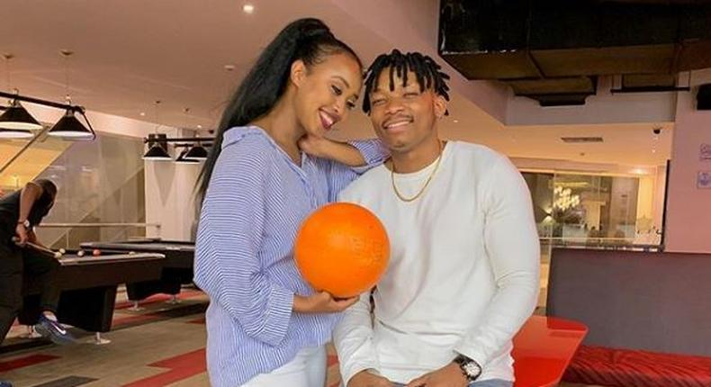 Otile Brown surprises Ethiopian girlfriend with a brand new car