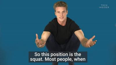 A fitness coach shows us how to perfect the squat and explains why you should do it every day