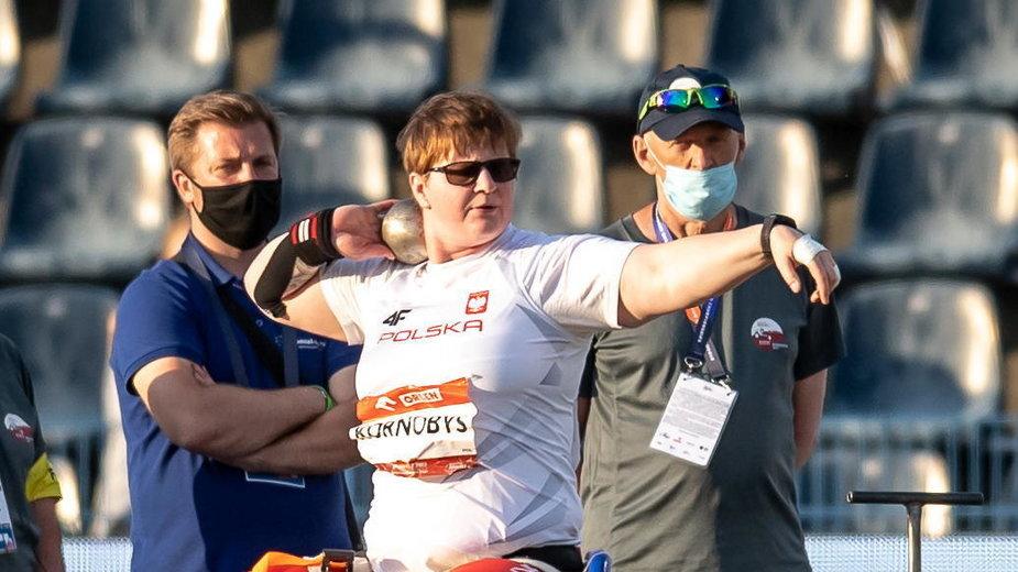 Igrzyska paraolimpijskie. Lucyna Kornobys zdobyła srebro w pchnięciu kulą