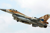 Izraelski avion, F-16, EPA - ABIR SULTAN