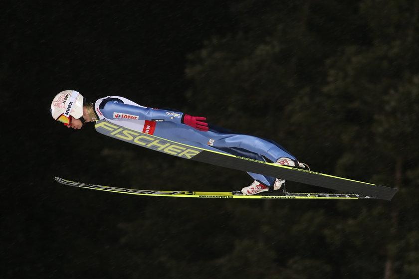 Kamil Stoch najlepszy w treningach w Falun! Wygrał dwa z nich!