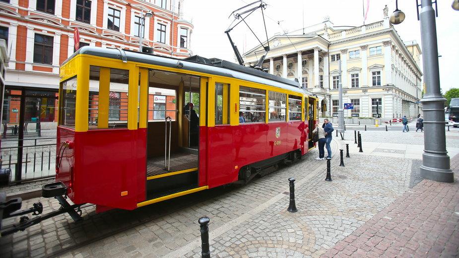 Zabytkowy tramwaj we Wrocławiu