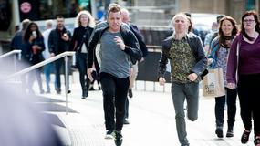 """""""Trainspotting 2"""": Ewan McGregor i Ewen Bremner odtworzyli kultową scenę z pierwszej części"""