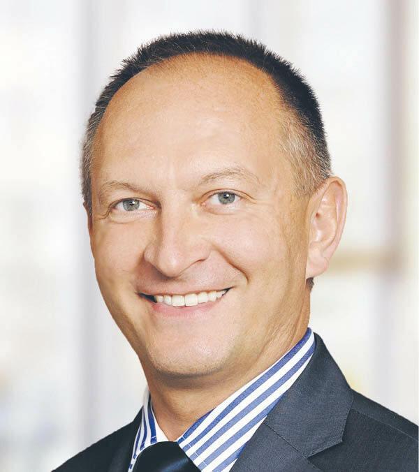 Tadeusz de Ville, dyrektor w sektorze usług finansowych w KPMG w Polsce fot. KPMG