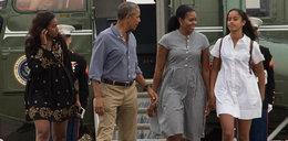Córka Obamy ma kłopoty? Mina prezydenta mówi wszystko