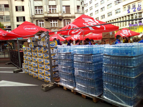 Nema maratona bez vode i banana