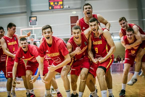 Juniori Crne Gore na šampionatu Evrope u Letoniji