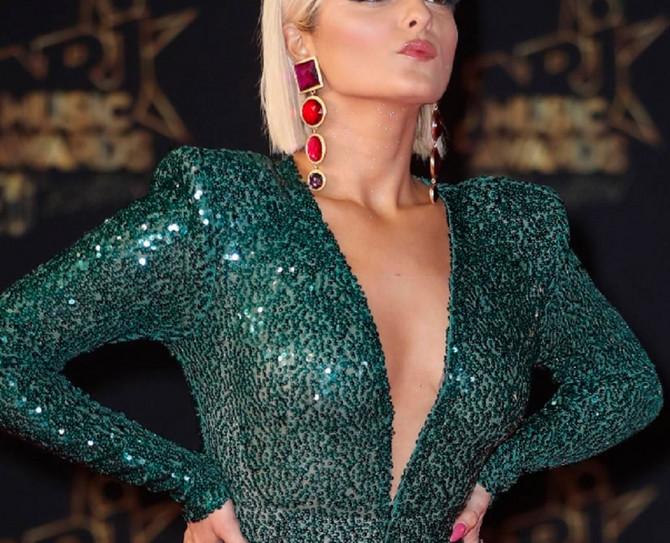 Poznata albanska pevačica na dodeli muzičkih nagrada