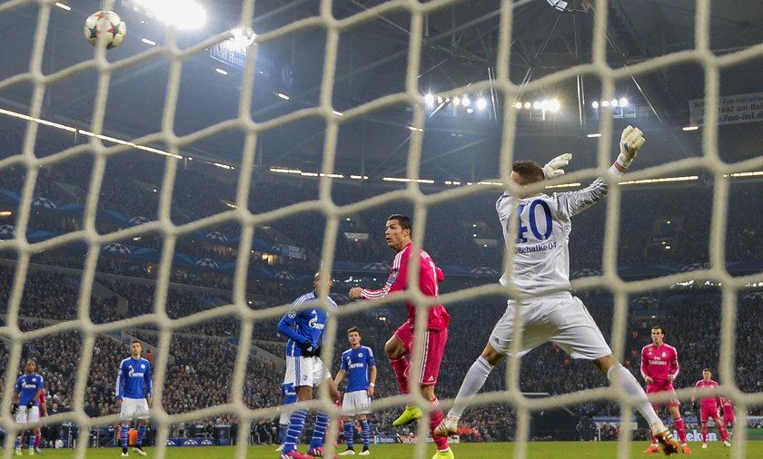 Liga Mistrzów: Schalke - Real Madryt 0:2. Zobacz bramki wideo