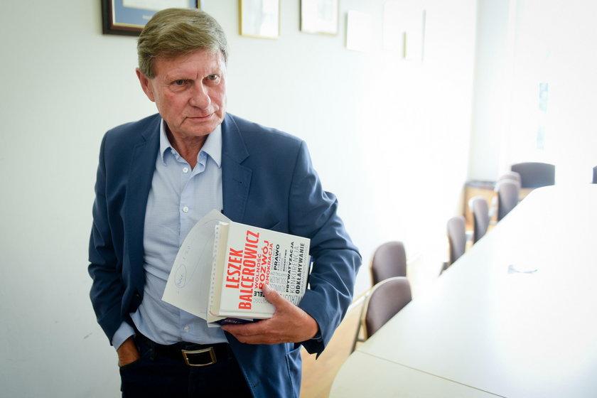 Prof. Balcerowicz w rozmowie z Faktem