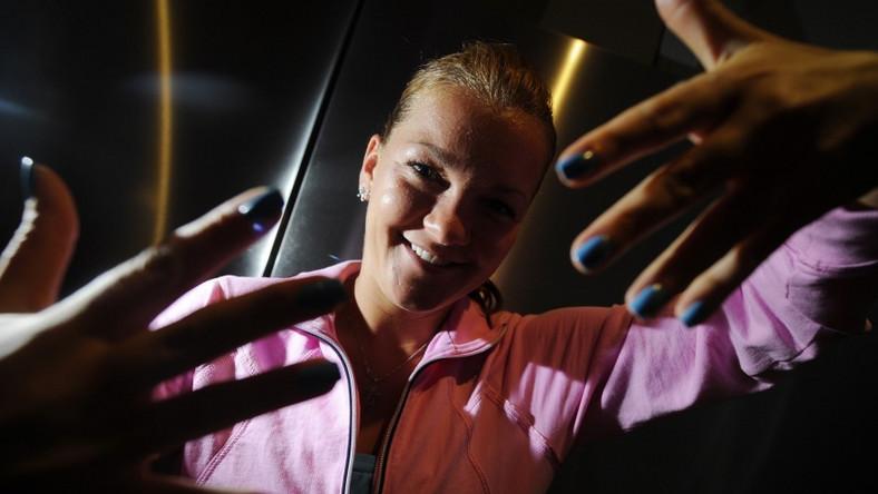 Mistrzyni kortu nigdzie nie rusza się bez perfekcyjnego manicure'u