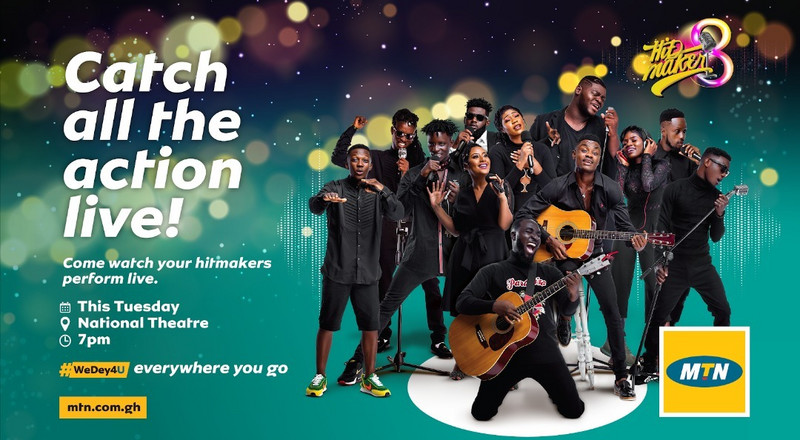 MTN Hitmaker 8: 12 contestants clash for live performance for the first time