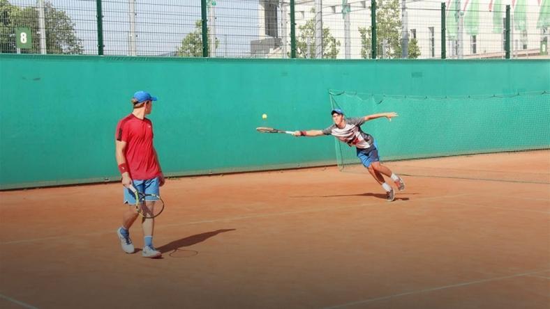 Dwie polskie pary w finale juniorskiego turnieju w stolicy