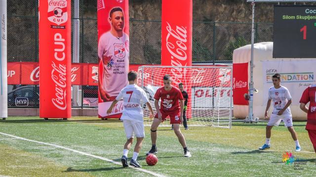 Finalni meč državnog finala turnira Coca Cola kupa