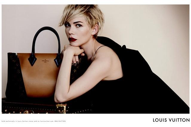 Michelle Williams jako twarz Luois Vuitton