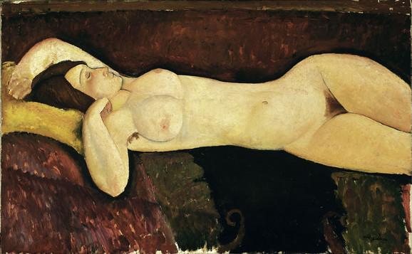 Ležeći akt, 1919, Museum of Modern Art, New York