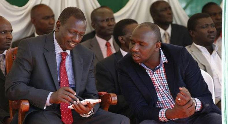 Senator Kipchumba Murkomen reveals how DP William Ruto had saved President Uhuru Kenyatta's contact on his phone