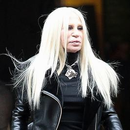 Donatella Versace wygląda jeszcze gorzej niż kiedyś...