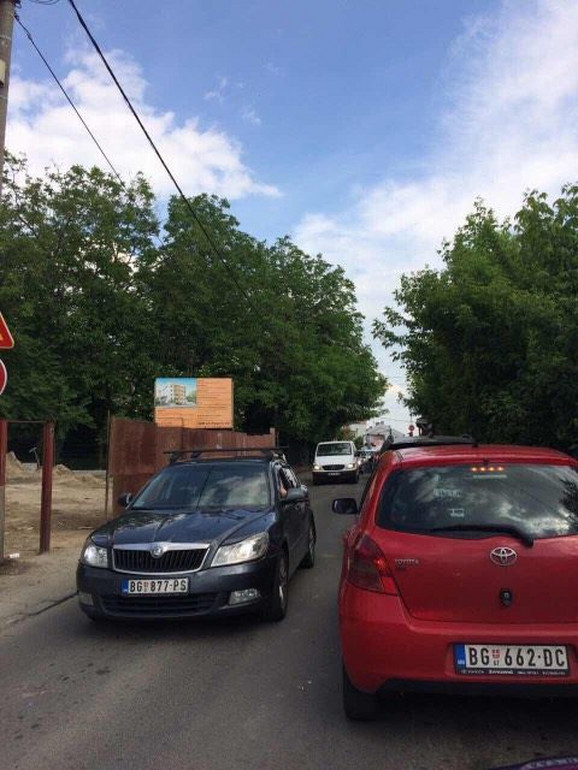 Kolaps u Milana Rakića zbog radova u Mite Ružića