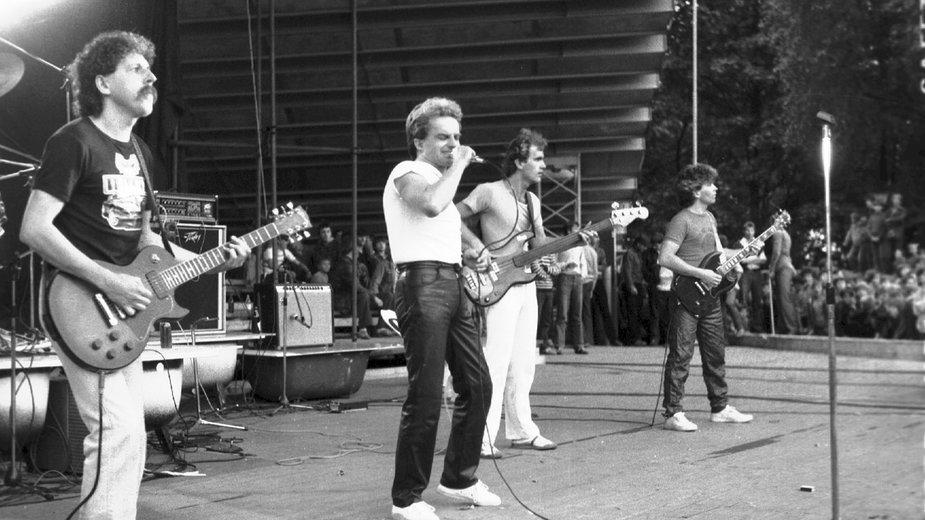 KoncertBudki Suflera w Zielonej Górze, 1980