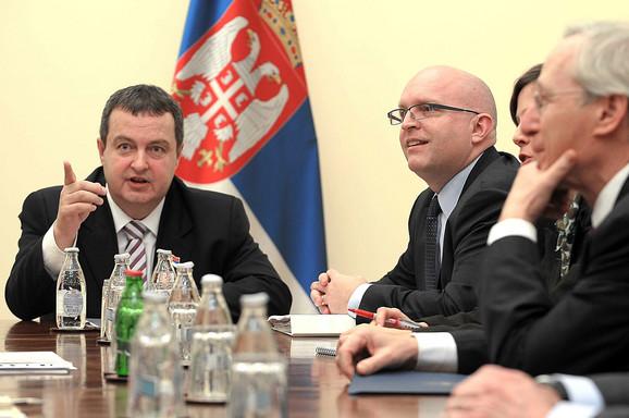 Riker na sastanku sa Ivicom Dačićem