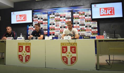 Mladen Krstajić i Branislav Ivanović