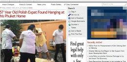 Zamożny Polak powiesił się w Tajlandii