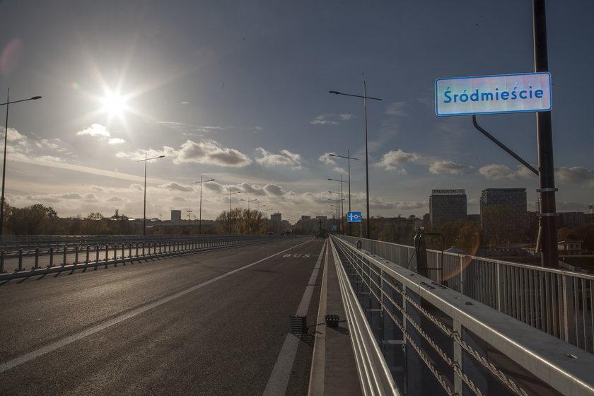 Most Łazienkowski znów otwarty