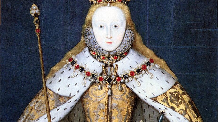 Portret koronacyjny Elżbiety, miała wtedy 26 lat