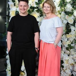 Dominika Ostałowska z 14-letnim synem. Ale wyrósł!