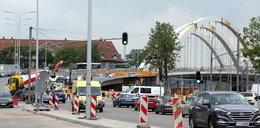 Uwaga! Znowu zmiany przy budowie wiaduktu Biskupia Górka w Gdańsku
