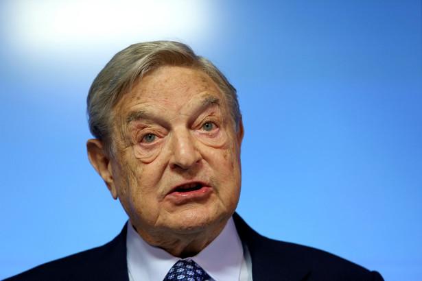 Ciężko o bardziej symboliczną postać niż George Soros.