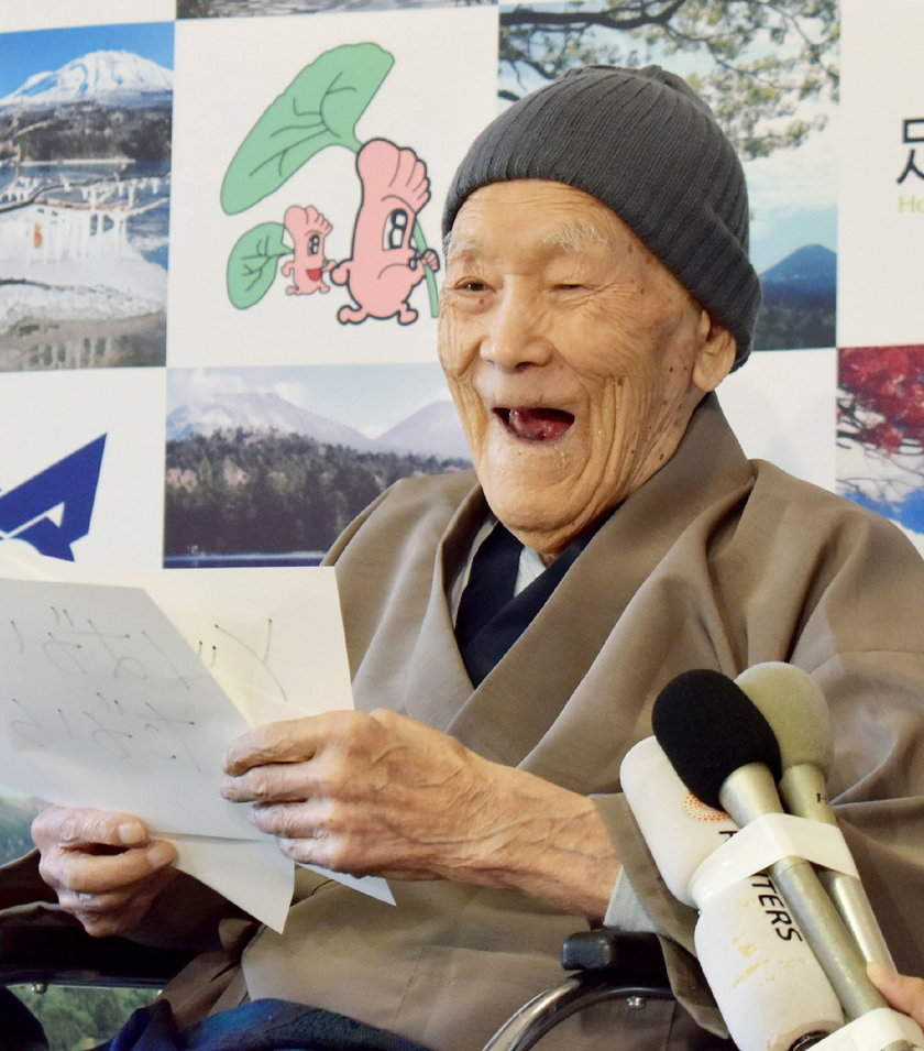 W wieku 113 lat zmarł najstarszy mężczyzna świata