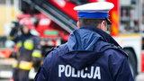 Policjant śmiertelnie potrącił pieszego