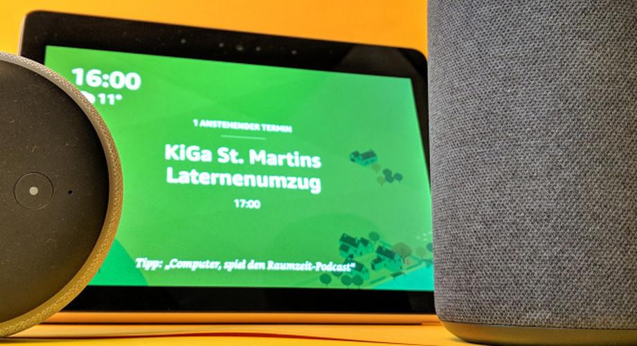 Vergleichstest 2018: Amazon Echo Dot vs. Plus vs. Show