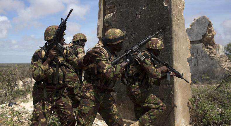 File image of Kenyan security forces