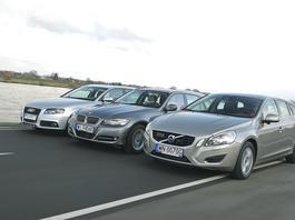 Szukamy prestiżowego kombi z dieslem – używane Audi A4, BMW serii 3 czy Volvo V60?