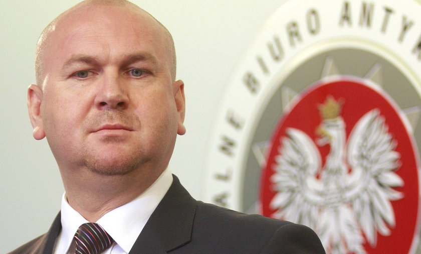 Paweł Wojtunik szef CBA.