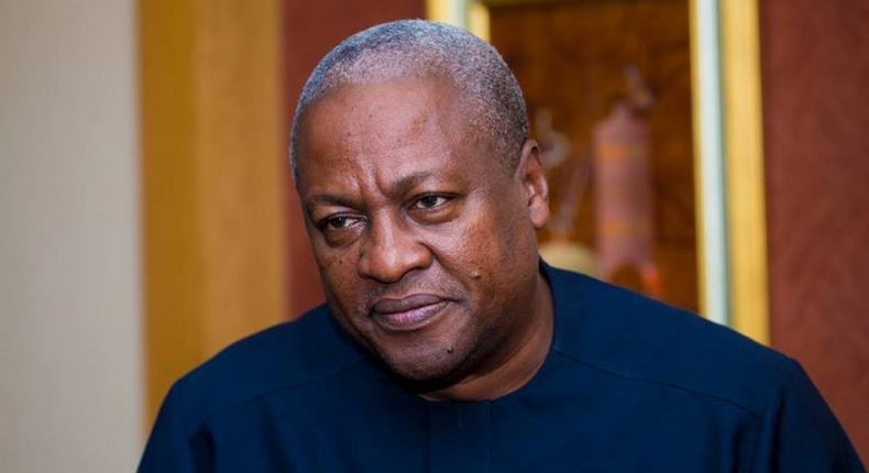 Former President John Mahama