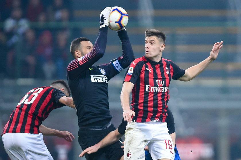 Krzysztof Piątek przestał strzelać gole dla Milanu