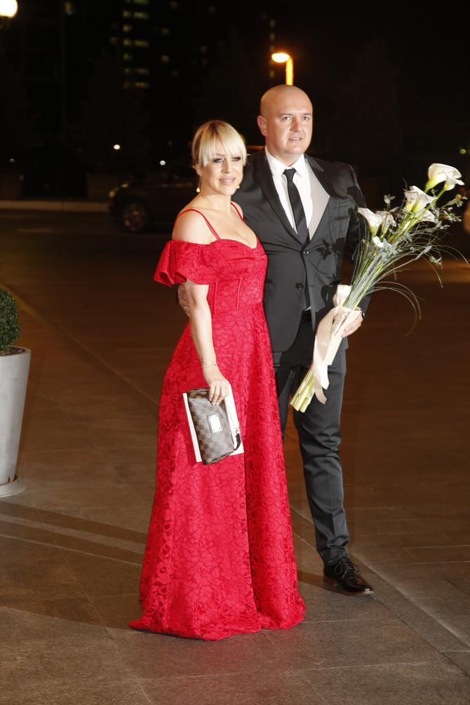 Slađa Alegro sa suprugom