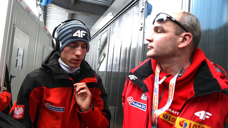 Aleksander Winiarski (z prawej)