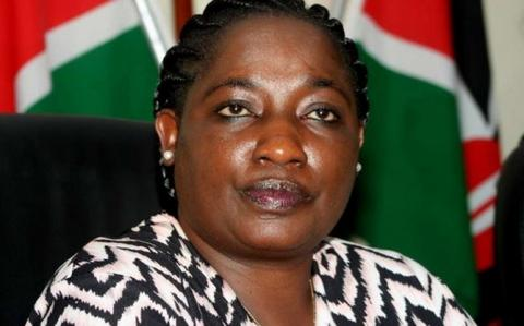 Former Youth and Gender Affairs Principal Secretary Lilian Omollo