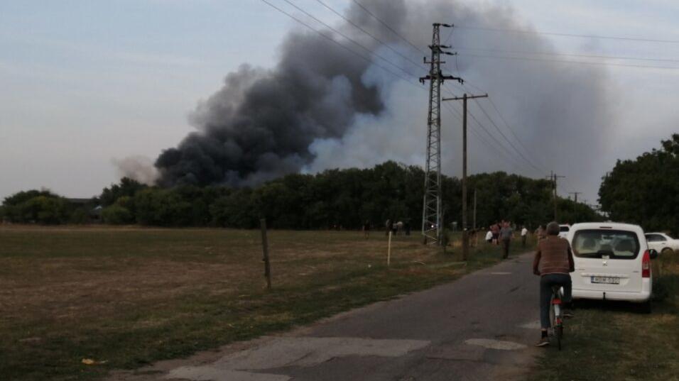 Óriási tűz Hódmezővásárhelyen: 240 sertés veszett oda, még mindig küzdenek a lángokkal - fotók és videók a helyszínről
