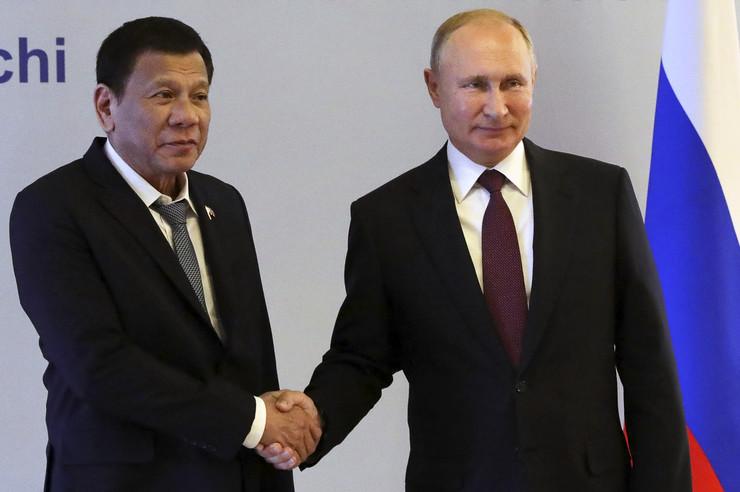 Vladimir Putin i Rodrigo Duterte