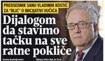 Kostić izneo lične stavove o Kosovu, a ne stavove SANU
