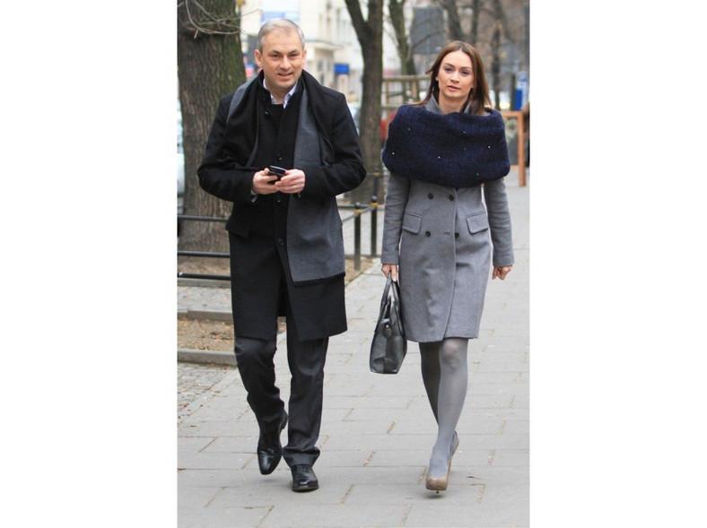 Stylowa para: Małgorzata i Grzegorz Napieralscy.