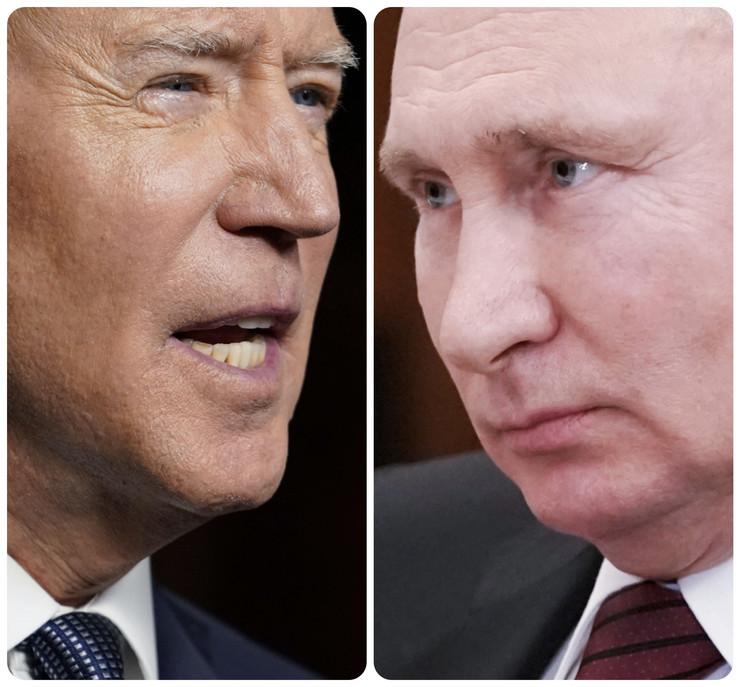Džozef Bajden i Vladimir Putin