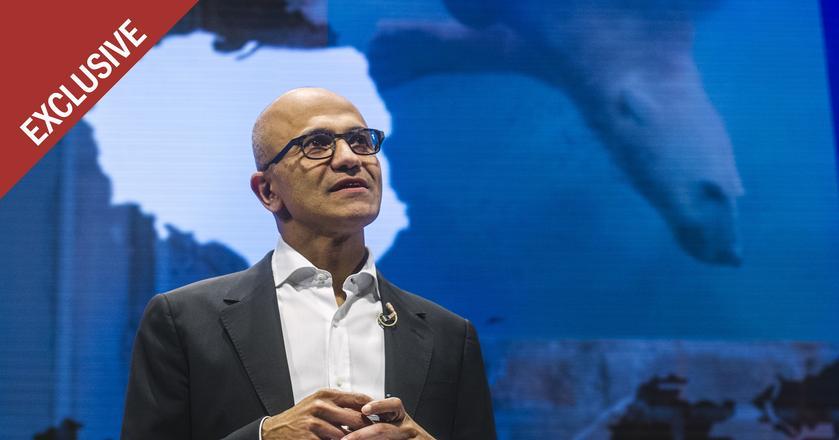 Satya Nadella od 2014 roku jest prezesem Microsoftu