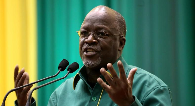 President John Pombe Joseph Magufuli